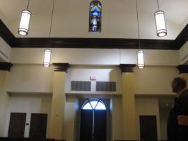 Chapel's Inside front view