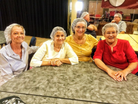 Ladies of st. Henry reaching out with all faiths to help Feed My Starving Children