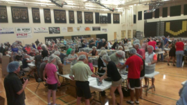 Ladies of St. Henry reaching out with all faiths to help Feed My Starving Children April 26, 2014