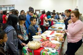 St. Henry Dedication  - Ministries Serving Appetizers